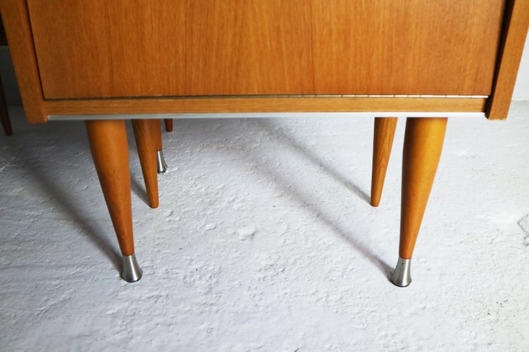Pair of 1960s Midcentury French Bed Side Cabinets In Good Condition For Sale In London, GB