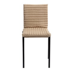 Contemporary Tanit Soft Chair with Beige Linen Cover
