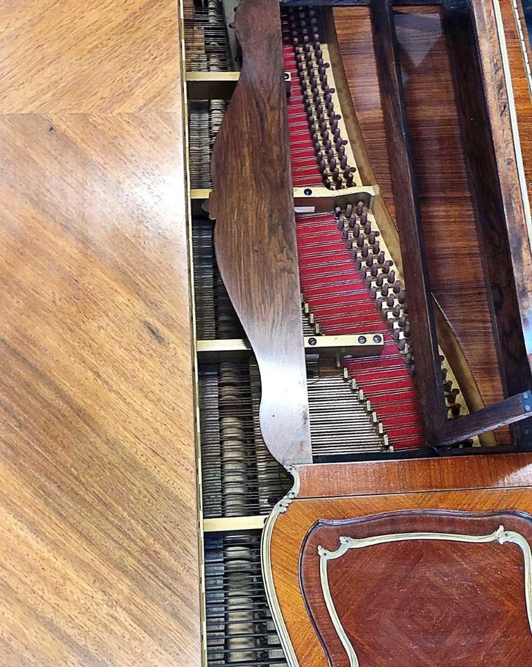 Very Fine Louis XV Style Piano by Francois Linke, Signed., Stamped by Zwiener In Good Condition For Sale In Palm Beach, FL