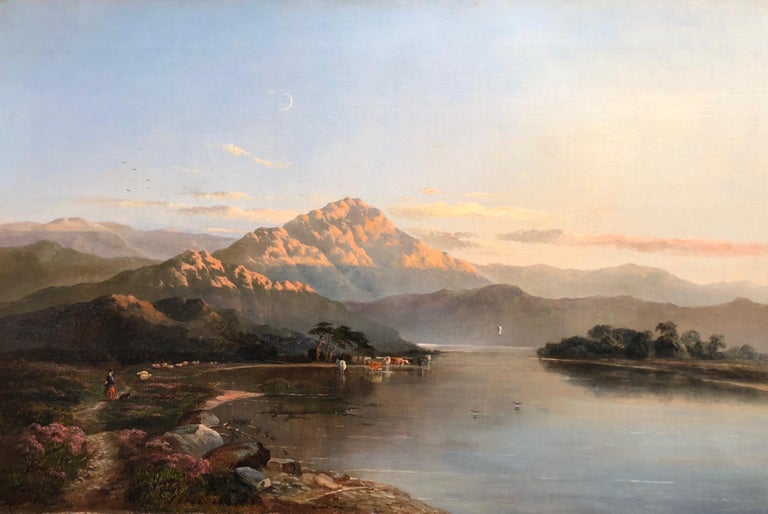 Very nice North wales Landscape by Sidney Richard Percy. 