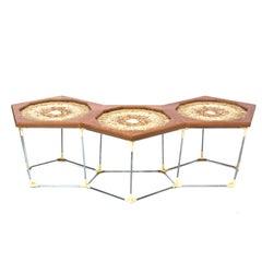 Hardwood Cumaru String Bench