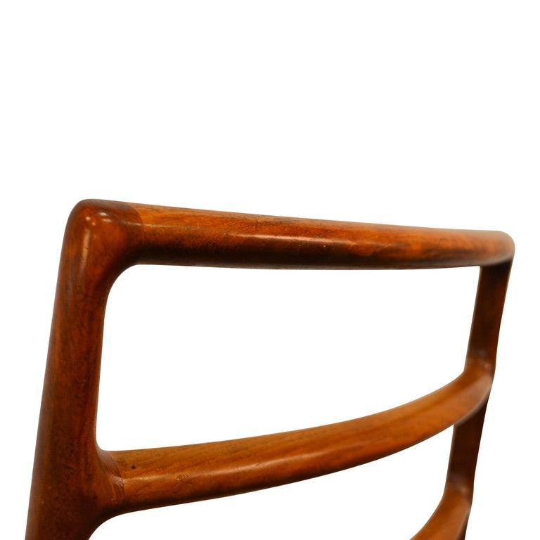 Niels O. Møller Teak Model 82 Dining Chairs, Set of Four For Sale 5