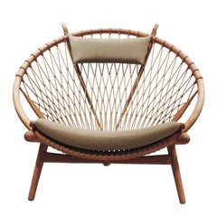 Early Hans J. Wegner PP130 Circle Chair