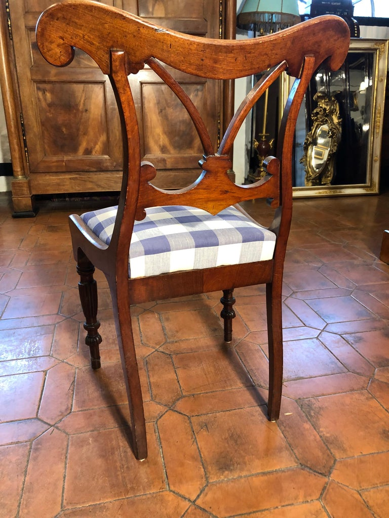 Mid-19th Century 19th Century Regency Mahogany Chairs For Sale