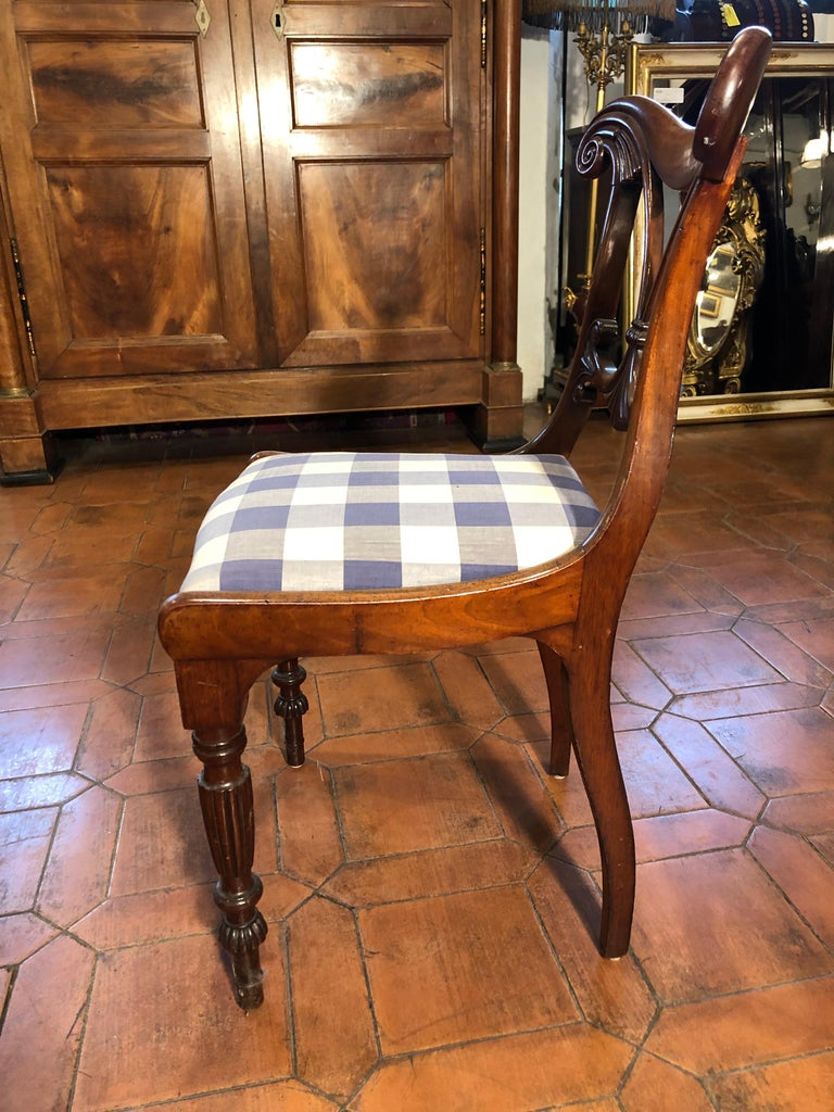 19th Century Regency Mahogany Chairs For Sale 1