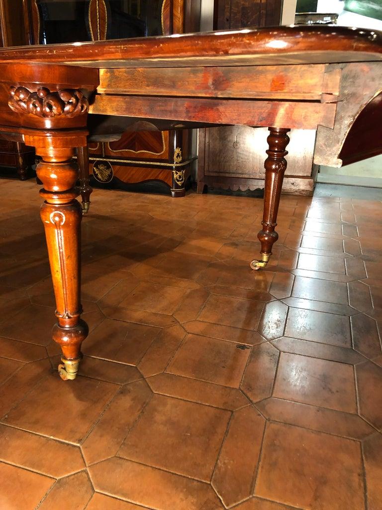 19th Century Regency Mahogany Extending Table Ireland For Sale 2