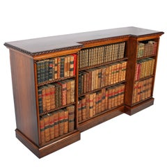 George IV Rosewood Open Bookcase