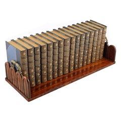 George IV Zebra Wood Book Stand