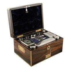 Coromandel Wood Jewel or Dressing Box