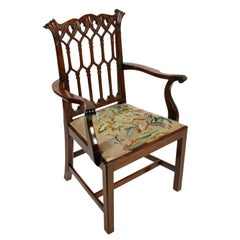 Chinese Chippendale Style Armchair