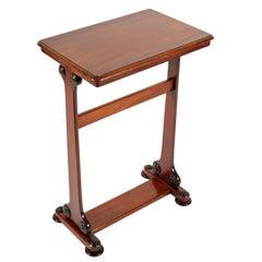 Mid-19th Century Mahogany Lamp Table