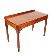 Gillows of Lancaster Two-Drawer Pine Table