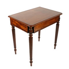 Small Mahogany Console Table