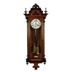 19th Century Vienna Wall Clock