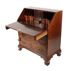 18th Century Georgian Mahogany Bureau