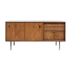 Dutch Teak Cabinet Sideboard Designed by William Watting