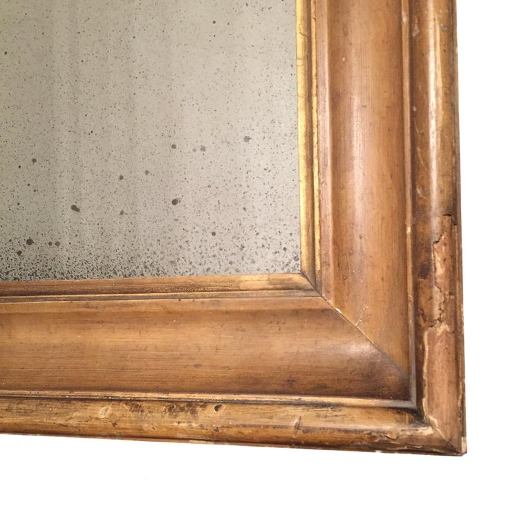 Pair of English 18th Century Time Worn Frames with Later Distressed Glass For Sale 1
