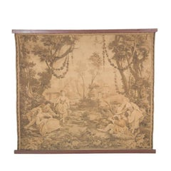 Mid-Late 19th Century Continental Tapestry in the Aubusson Style