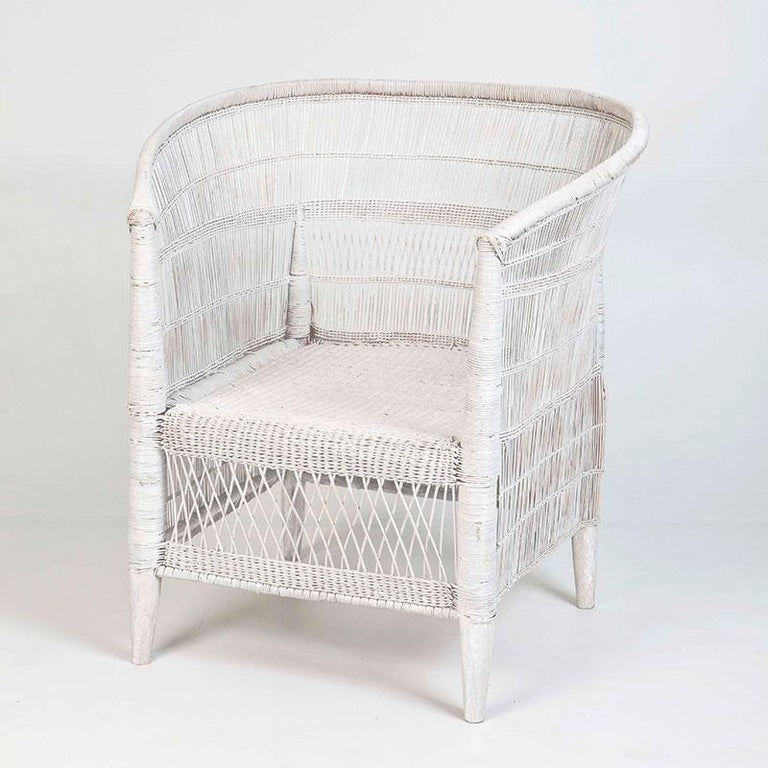 Handwoven Cane Malawi Chair At 1stdibs