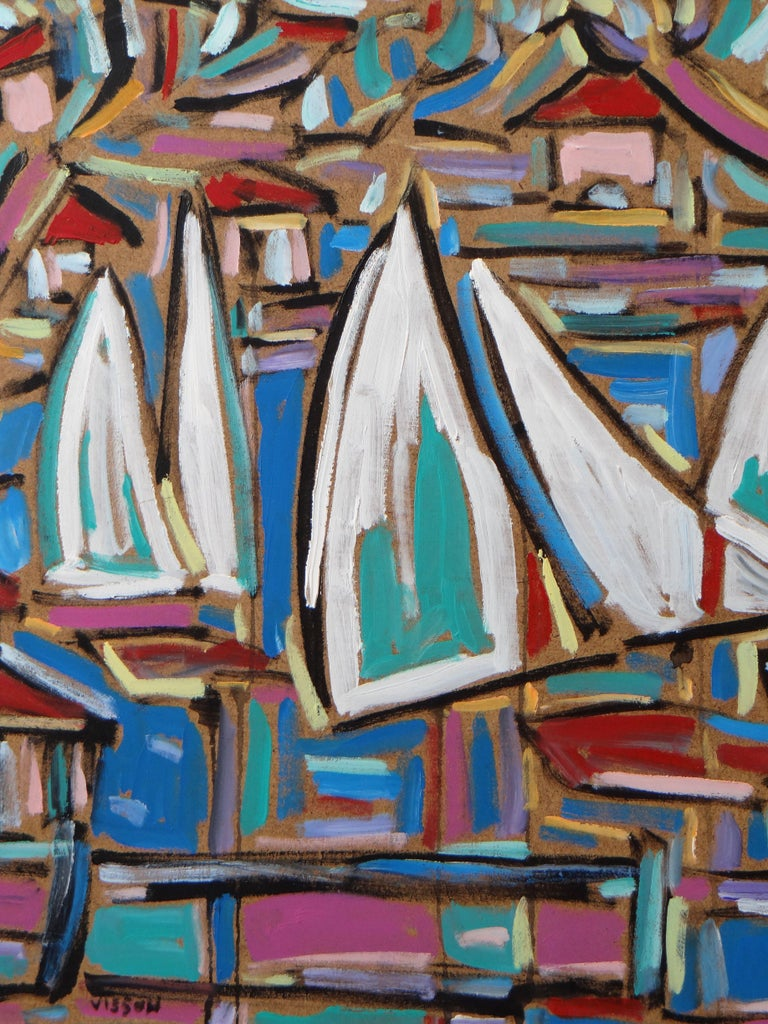 Painted Philippe Visson Painting