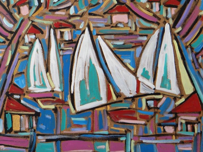 Modern Philippe Visson Painting
