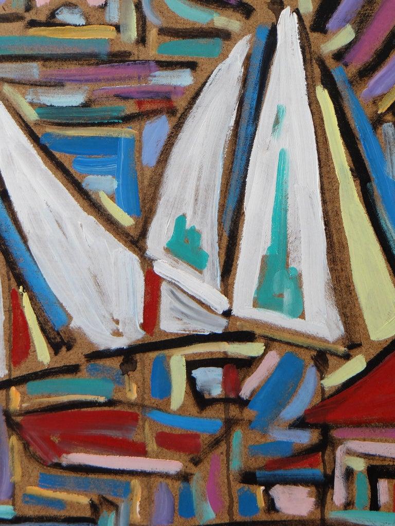 Hardwood Philippe Visson Painting
