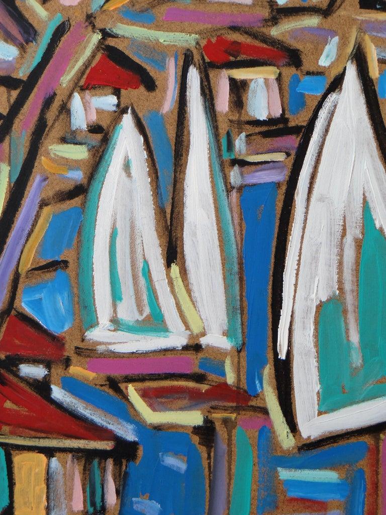 Late 20th Century Philippe Visson Painting