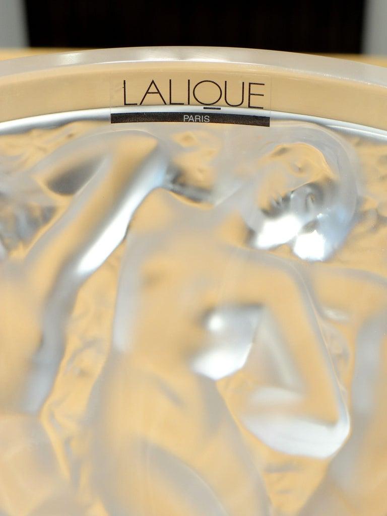 Lalique, Vase Bacchantes Crystal Clear, 1927 For Sale 8