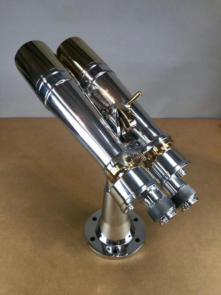 Modern Nikon WWII Navy Battleship Big Eye Binoculars For Sale