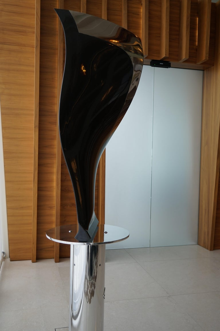 Contemporary Boeing 777-300 Fan Blade Sculpture For Sale