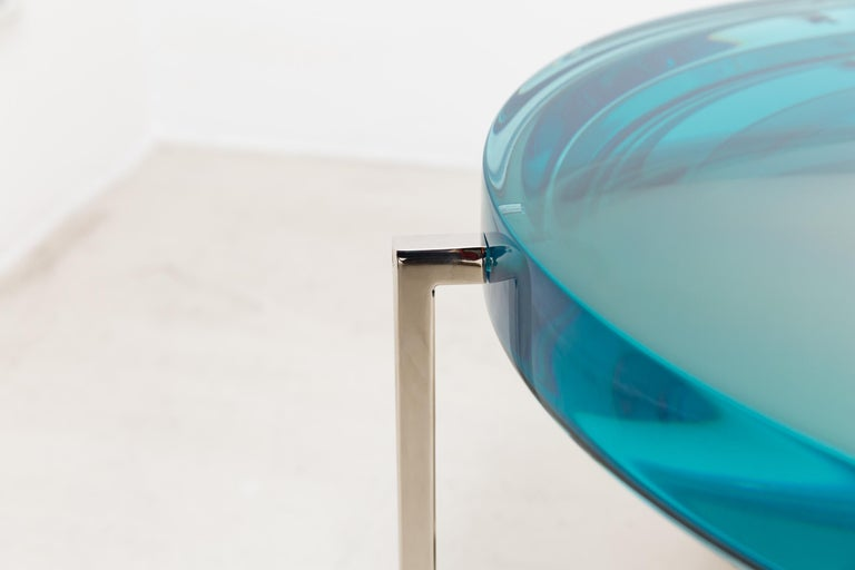 Contemporary McCollin Bryan Lens Table For Sale