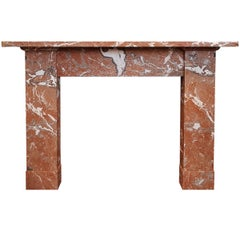 Rouge Marble Fireplace Mantel