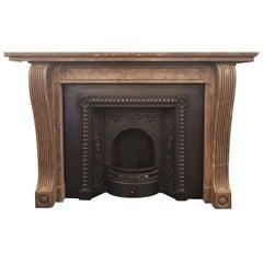 Stone Fireplace from Prestigious Edinburgh Building