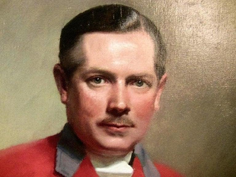English British Portrait by Frank Owen Salisbury of Sidney Shephard Esq For Sale