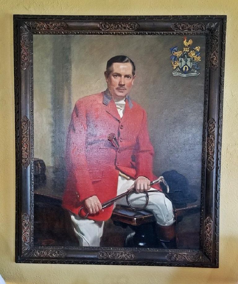 20th Century British Portrait by Frank Owen Salisbury of Sidney Shephard Esq For Sale