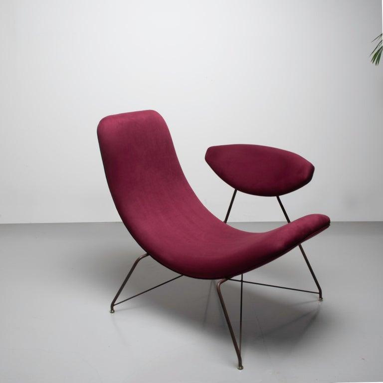 Suede Reversible by Martin Eisler, Modern Brazilian, Design 1955 For Sale