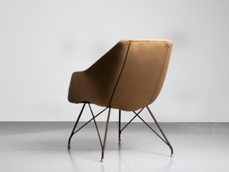 'Concha' Armchairs, Martin Eisler and Carlo Hauner, Modern Brazilian Design 1955 For Sale 1