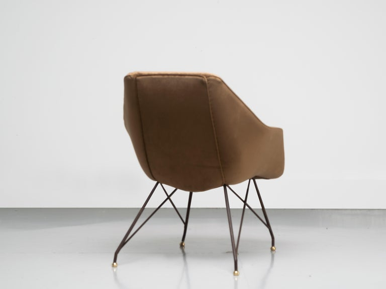 'Concha' Armchairs, Martin Eisler and Carlo Hauner, Modern Brazilian Design 1955 For Sale 2