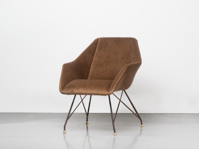 'Concha' Armchairs, Martin Eisler and Carlo Hauner, Modern Brazilian Design 1955 For Sale 3
