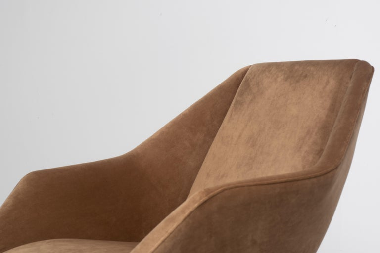 'Concha' Armchairs, Martin Eisler and Carlo Hauner, Modern Brazilian Design 1955 For Sale 4