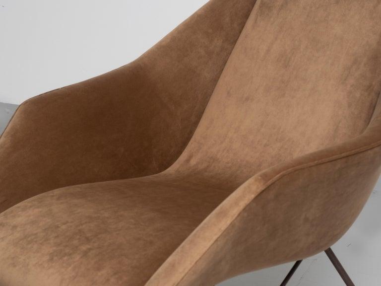 'Concha' Armchairs, Martin Eisler and Carlo Hauner, Modern Brazilian Design 1955 For Sale 5