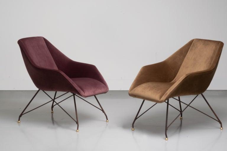 'Concha' Armchairs, Martin Eisler and Carlo Hauner, Modern Brazilian Design 1955 For Sale 8