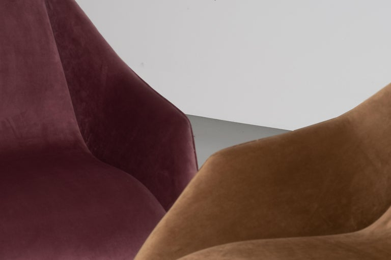 'Concha' Armchairs, Martin Eisler and Carlo Hauner, Modern Brazilian Design 1955 For Sale 9