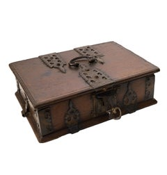 South French Chestnut Casket