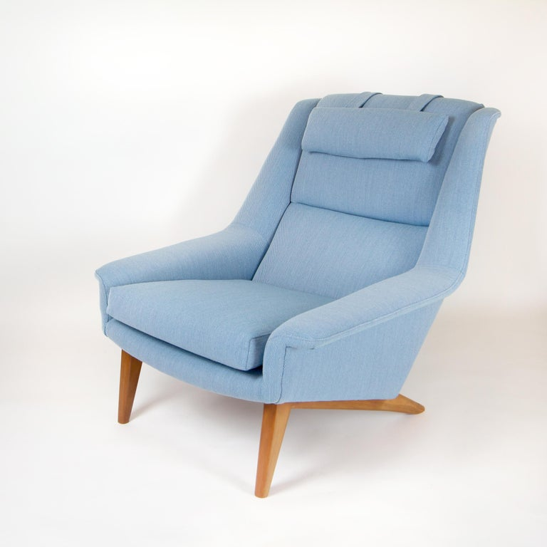 Mid-Century Modern Model 4410 Sonet Lounge Chair by Folke Ohlsson for Fritz Hansen For Sale
