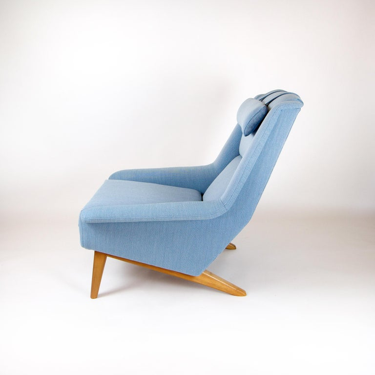 Model 4410 Sonet Lounge Chair by Folke Ohlsson for Fritz Hansen For Sale 3