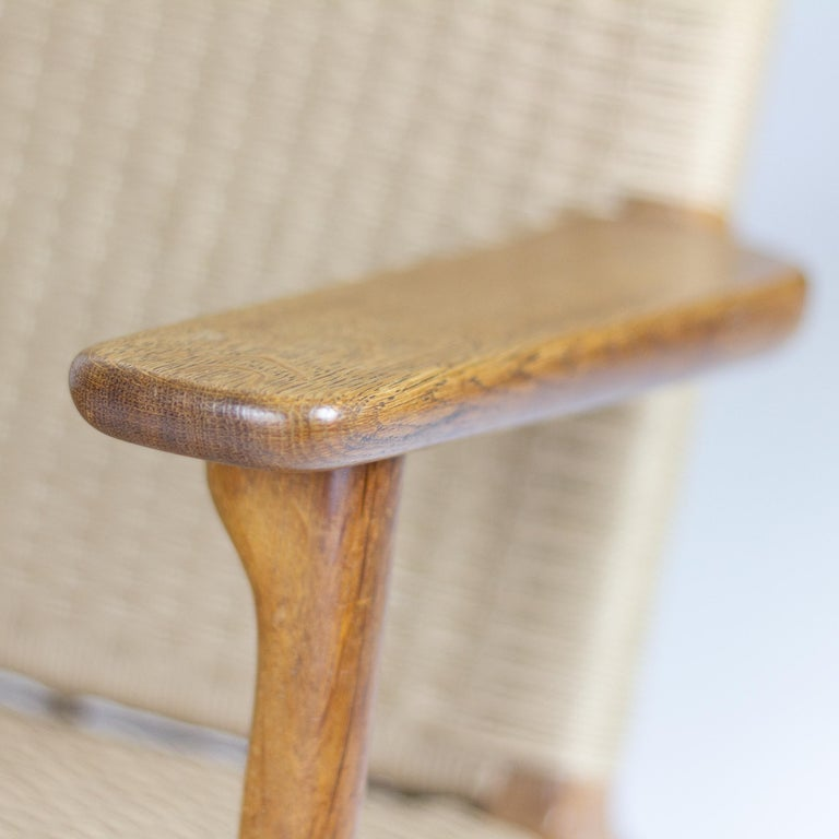 CH25 Lounge Chair by Hans J. Wegner For Sale 4