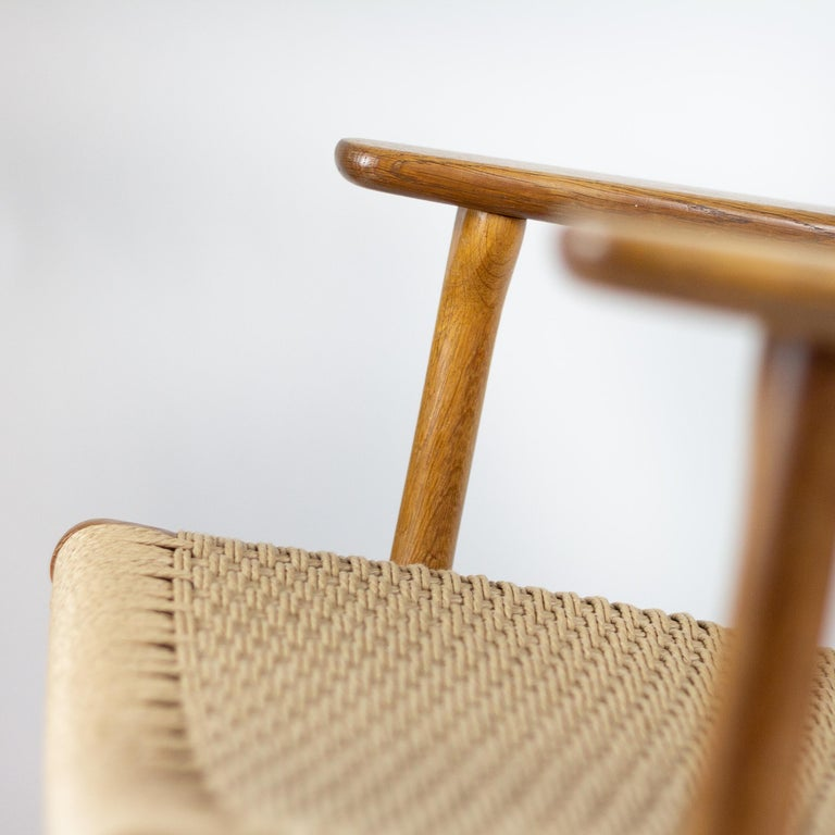 CH25 Lounge Chair by Hans J. Wegner For Sale 7