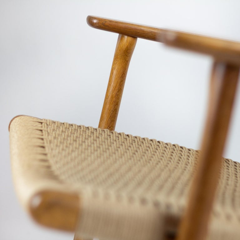 CH25 Lounge Chair by Hans J. Wegner For Sale 1