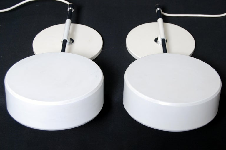 Swedish Overhead Shelf Lamps by Anders Pehrson for Ateljé Lyktan, Set of 2 For Sale